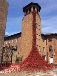 Weeping window at Derby Silk Mill