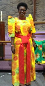 Hellen Adoa September speaker gave a very inspirational talk about her life from rural child to MP in Uganda.
