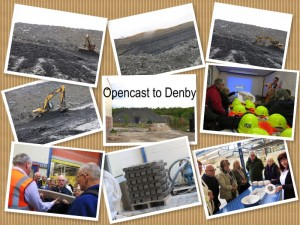 opencast to denby collage