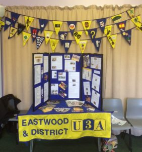 Craft groups work used at Eastwood display