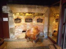 Old Original Fireplace