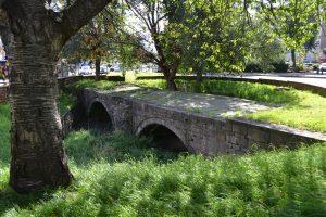 The old Trent Bridge
