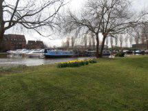 Barge moorings