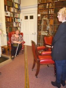The Meridian Line at Bromley House Library