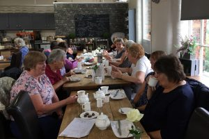 Coffee & co at Armstrong Mill, Ilkeston.